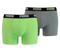 Basic Boxershorts 2er Pack