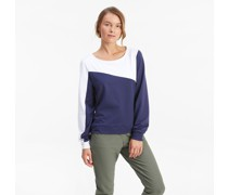 CLOUDSPUN Colour Block Golf-Sweatshirt