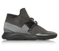 Htop No Toe E Grey & Silver Sneaker