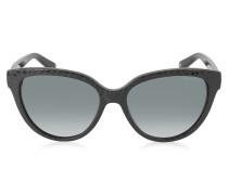 ODETTE/S 6UIHD Sonnenbrille mit Tierprint in schwarz