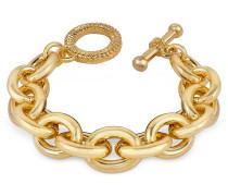 Vergoldetes Armband mit großen Gliedern
