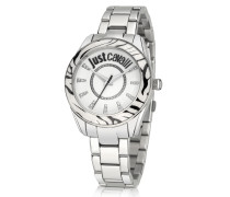 Just Style Stainless Steel Women's Watch