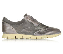 Raffaello Sneaker zum Reinschlüpfen in dunkelgrau