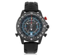 NSR 103 Tide Compass Herrenuhr aus Edelstahl mit Kautschukarmband