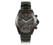 Murdock - Armbanduhr in schwarz