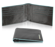 Blue Square - Herrenportemonnaie aus Leder