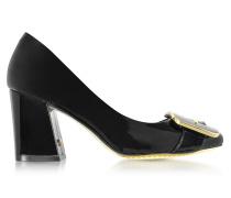 Maria Black Pumps aus Lackleder in schwarz