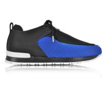 Doda Sneaker aus Neopren und Leder in schwarz/blau