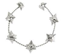 Pierce Me Palladium Armband aus Metall mit Stacheln