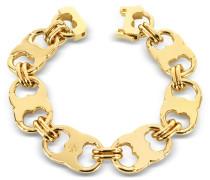 Gemini Armband mit goldfarbenen Gliedern