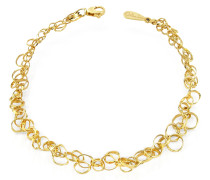 Scintille - Armband aus 18k Gelbgold