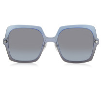 MARC 27/S TWEHL Sonnenbrille oversized aus Acetat in blau