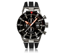 Montecristo Black PVD Stainless Steel & Titanium Chronograph Men's Watch