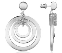 Ohrringe aus Silber mit Swarovskisteinen