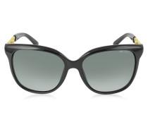BELLA/S BMBHD Damen Sonnenbrille aus Acetat in schwarz