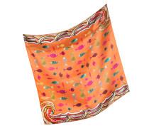 Bandana aus Seide mit Fische-Print