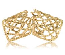 Ring in Gold - geflochten