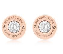 Iconic Ohrringe aus Edelstahl mit Kristallen