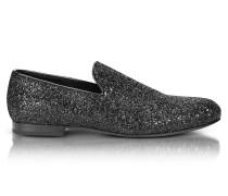 Sloane Black Glitter Loafer