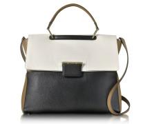 Petalo and Onyx Artesia Large Top Handle Bag