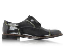 Damen Dandy Derby Schuh aus Lackleder