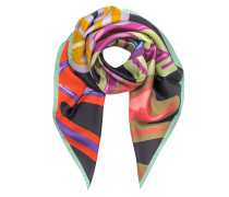 Shoes Printed Silk Square Scarf