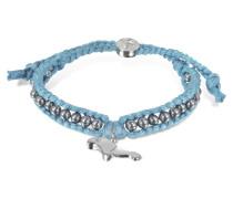 Manatee Friendship - Armband aus Seide mit Anhänger