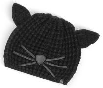 Black Choupette Knit Hat