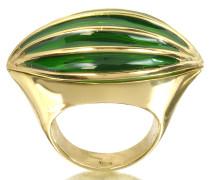 Bronze Poison Ring mit Auge