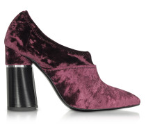 Kyoto Syrah High Heel Pumps aus Samt