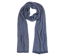 Langer Schal aus Wolle mit Streifen