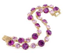 Vergoldetes Armband mit Swarovskisteinen besetzt