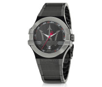 Potenza Black PVD Stainless Steel Unisex Watch