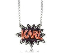 K/Pop Halskette mit Kristallen