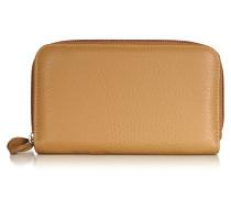 Brieftasche mit Rundum-Reißverschluss und Geoprint