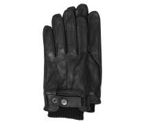 Herren-Handschuhe aus Leder schwarz