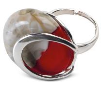Oriental - Ring aus Muranoglas mit Crackling Effekt