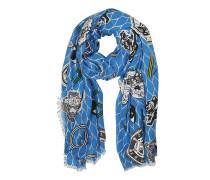 Tuch aus Baumwollgemisch in Royal Blue