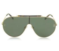SC0056S Damen Sonnenbrille im Pilotenstyle aus Metall