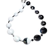 Audrey 2 Halskette aus Muranoglas im Color Block Design