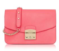 Rose Metropolis Small Leather Shoulder Bag