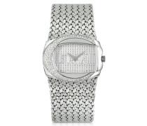 Rich Collection - Armbanduhr aus Edelstahl mit Logo