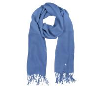 Stola aus Wolle und Kaschmir in hellblau