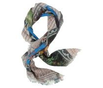 Tuch aus Wolle mit Destroy Print