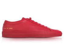 Original Achilles Low Red Leather Men's Sneaker