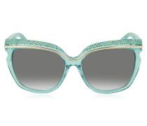 SOPHIA/S DSLN6 Damen-Sonnenbrille aus Acetat mit Kristallen