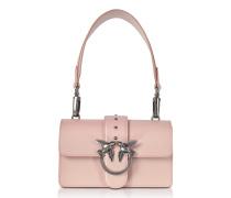Mini Love Antique Pink Leather Shoulder Bag