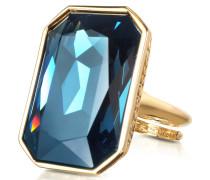 Elizabeth - Ring aus Bronze und Gelbgold
