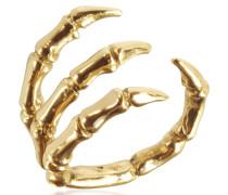 Ring aus vergoldeter Bronze