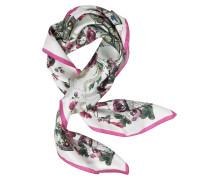 Halstuch aus bedruckter Seide mit Blumenmuster